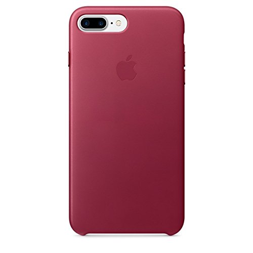 iPhone 7 Plus Leather Case - Berry