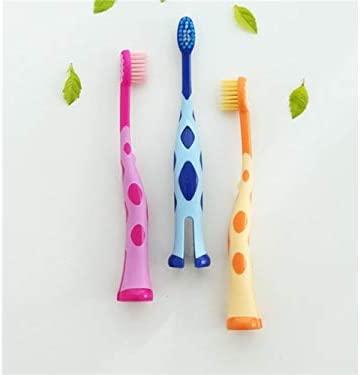 Cepillo de dientes suave 2 piezas de dibujos animados jirafa ...