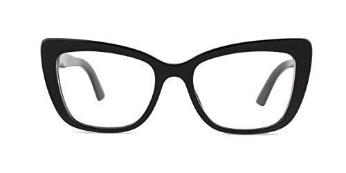 (Dolce Gabbana DG3308 Black/Clear Lens Eyeglasses)