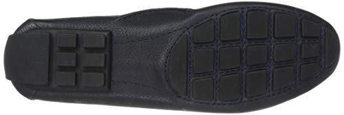 Style New Grainy York Joseph Navy Village Women's Leather West Marc Driving Loafer O8ZwqxF75