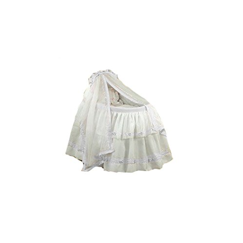 BabyDoll Baby Regal Liner/Skirt & Hood with White Trim, 15'' x 30''