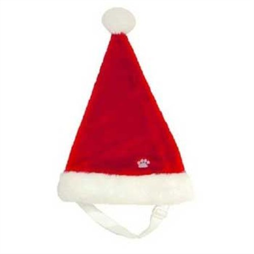 Outward Hound Kyjen  PP01759 Dog Santa Hat Holiday Pet Accessory, Large, ()