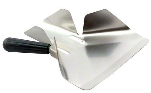 American Metalcraft (FFSR1) Stainless Steel Right Handle Fry Scoop