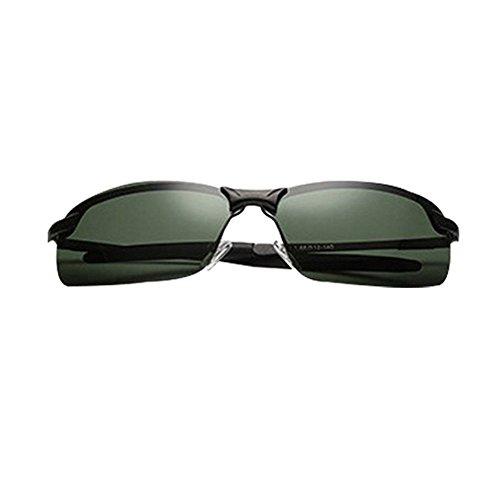 de Vert Lunettes air Noir pêche Cadre CHshop conduite plein polarisées Foncé en miroir UxEPqd1w