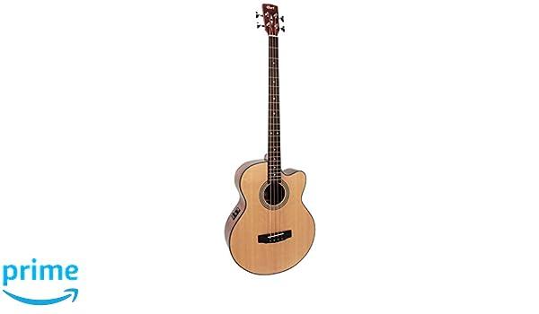 Cort SJB5FB de raso juego de guitarra eléctrica-natural: Amazon.es: Instrumentos musicales