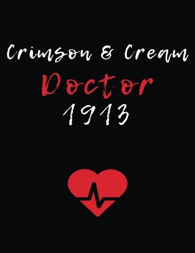 Crimson & Cream Doctor 1913: Blank Lined Journal 8.5x11: Delta Sigma Theta gift for a soror; Gift for sisterhood or future soror