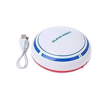 Candybush Aspirador de Robot, Pelo para Mascotas/alfombras Finas/Limpiador para Pisos Duros