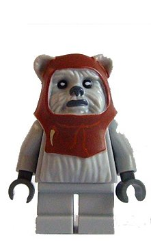 Chief Chirpa (Ewok) - LEGO Star Wars Minifigure (Lego Star Wars Ewok Sets)