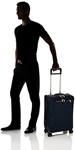 Briggs & Riley Baseline Domestic Expandable Carry-On 22'' Spinner, Navy by Briggs & Riley (Image #5)