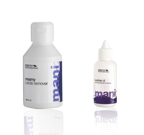 strictly professional Cuticle oil +creamy cuticle remover