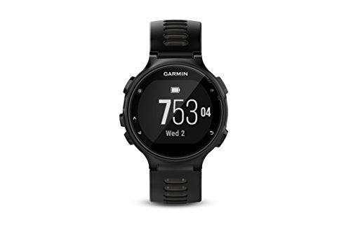 Garmin Forerunner 735XT, Multisport GPS Running Watch with Heart Rate, Black/Gray (Best Gps For Running And Cycling)
