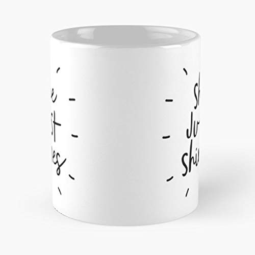 Black White Monochrome Inspirational - 11 Oz Coffee Mugs Unique Ceramic Novelty Cup, The Best Gift For Holidays.