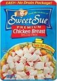 Sweet Sue Chicken Breast, 3 Oz, Pack of 8