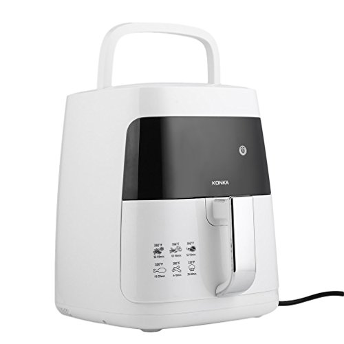 Homgrace Air Fryer, 2.5L Smokeless Electric Air Fryer Non-stick Fryer French Fries Machine 220V by Homgrace (Image #5)