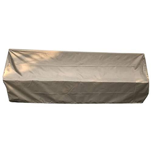 Covers Outdoor Garden Furniture Set Patio Sofa Table Chair, Durable Waterproof Oxford Fabric Rectangular, Large, Khaki (Size : 120x120x80cm)