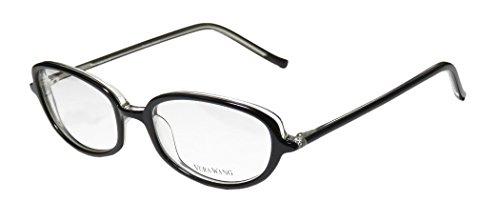 Vera Wang V40 Womens/Ladies Ophthalmic Inexpensive Designer Full-rim Eyeglasses/Eyeglass Frame (51-17-136, - Inexpensive Designer Glasses