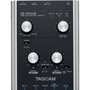 Tascam US122MKII USB Audio/Midi Interface from Tascam