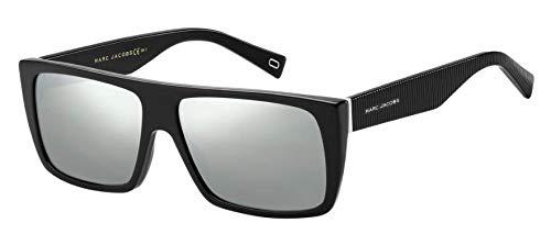 Marc Jacobs Unisex MARC ICON 096/S Black/White/Black Mirror One ()