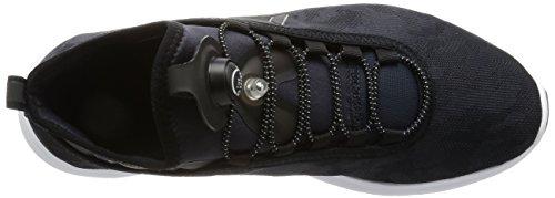 Reebok Pump Plus Camo Heren Sneakers Zwart Wit