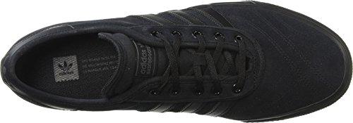 Adidas Heren Adi-ease Première Mode Sneaker Kern Zwart / Kern Zwart / Donker Grijs Heather Effen Grijs
