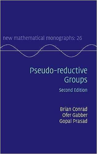 Pseudo-reductive Groups (New Mathematical Monographs)