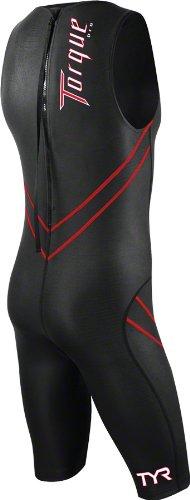 TYR Torque Pro Shortjohn Speedsuit: Black; MD