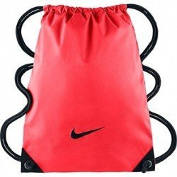 Nike Fundamentals Swoosh Gymsack - Mochila de cuerdas para hombre, color naranja, talla única: Amazon.es: Deportes y aire libre
