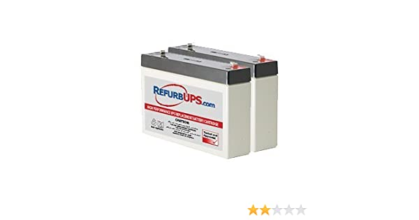 RBC18 Compatible Replacement Battery Pack for SC450R1X542 by UPSBatteryCenter