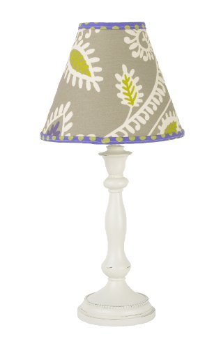 Cotton Tale Designs Standard Lamp and Shade, Periwinkle (Shade Standard Girl Lamp)