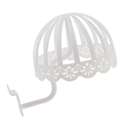 Fityle Detachable White Plastic Hats Cap Display Rack Wigs D