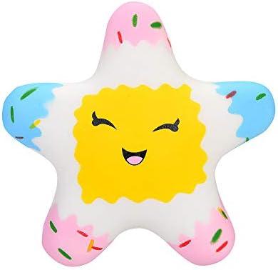 Amazon.com: Ulanda Squishies Kawaii Star Crema Squishy ...