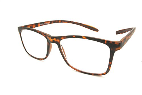 ColorViper Multifocal Progressive Computer Lens Multiple Strengths in 1 Reader Allow Switch Free Multitasking (2935 Hanging Reading TR90 Matte Tortoise, - Free Size Means Sunglasses