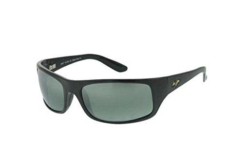 Maui Jim Mens Peahi Sunglasses (202) Plastic,Acetate – DiZiSports Store