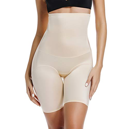 Thigh Slimmer Shapewear Panties for Women Slip Shorts High Waist Tummy Control Cincher Girdle Body Shaper