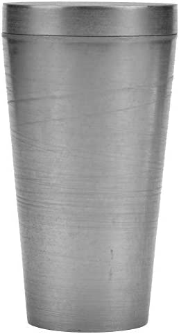 Graphit-Tiegel Metall-Flüssigschmelzguss Raffiniermischwerkzeug für die Analyse geologischer Experimente(60x105mm with cover)