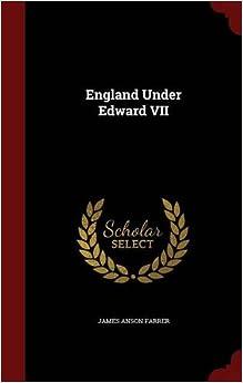 Book England Under Edward VII