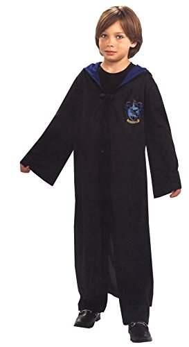 Ravenclaw Student Costume (UHC Boy's Ravenclaw Student Robe Child Fancy Dress Halloween Costume, Child L (12-14))
