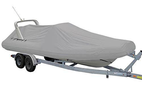 Oceansouth Outboard Rigid Hull Inflatable Boat Cover (15.4' - 16.4')