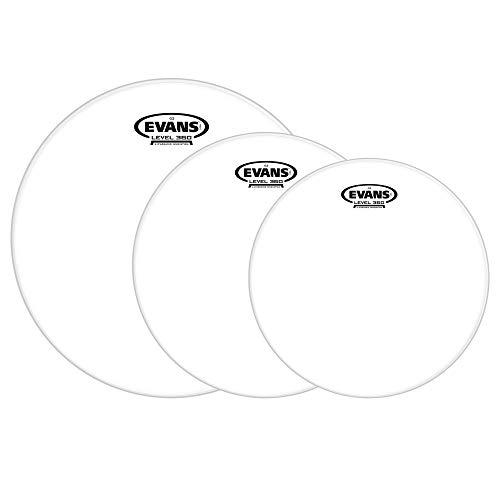 Evans 10/12/16 G2 Coated Drumhead (3 Pack Bundle) ()