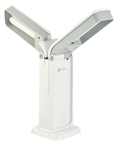 "OttLite D26008 26W Dual-Sided Task Lamp, 14"" x 6.03"" x 9 ..."