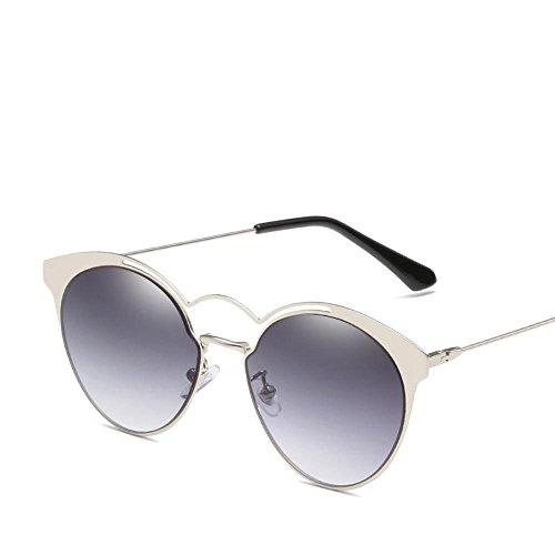 Aoligei Triangulaire réflectorisé lunettes Dame européens et américains lunettes de soleil marée papillon fashion Shoot Street nY9L2W6E