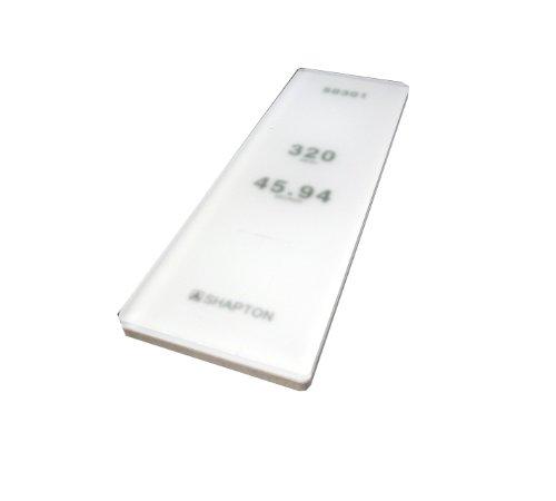 Shapton GlassStone Series Ceramic Water Stone 320 Grit 5mm ()