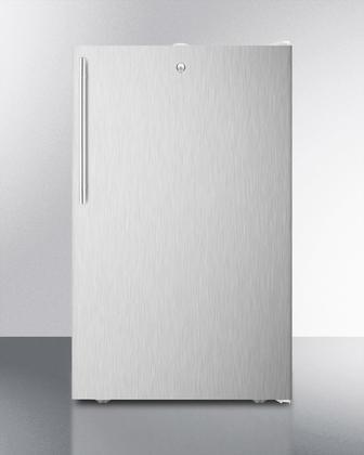 Summit FF511LBI7SSHVADA Refrigerator, Stainless Steel