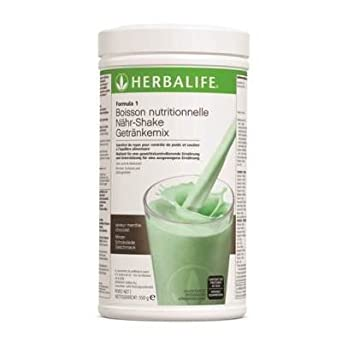 Herbalife 2 Batidos Fórmula 1 Chocolate Crujiente y Menta, 2 x 550 g: Amazon.es: Industria, empresas y ciencia