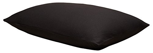 dern Cotton Harrison King Pillowcase Pair, Black, 2 Piece ()