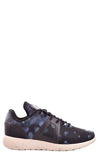 Asfvlt Hombre MCBI026002O Azul/Negro Tela Zapatillas