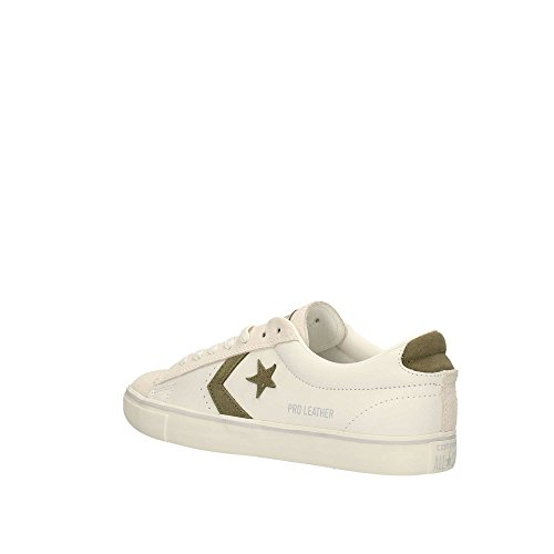 Vulc Basso Sneaker Ox Distressed Donna White a Converse Pro Collo Leather pwqBEE4