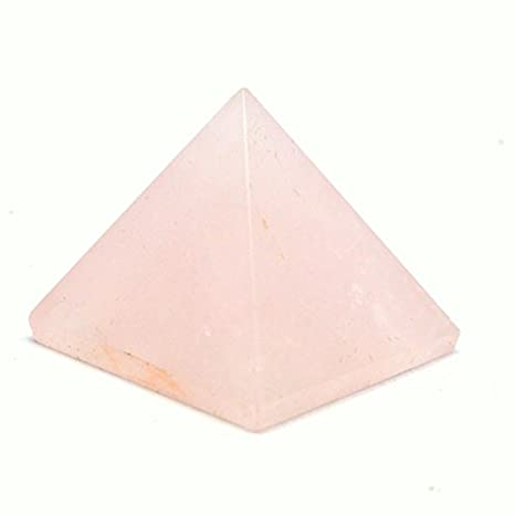 Healing Crystals India Natural Gemstone Semi Precious Stone Clear Quartz Pyramid Feng Shui Reiki Healing Energy Charged Pyramid 40-50mm Free eBook about Crystals Healing CRYS125