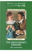 book cover of The Gentleman\'s Demand