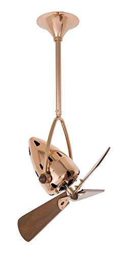 Jarold Ceiling Fan in Polished Copper - Copper Ceiling Polished Fan Matthews